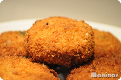 Sri Lankan fish cutlets